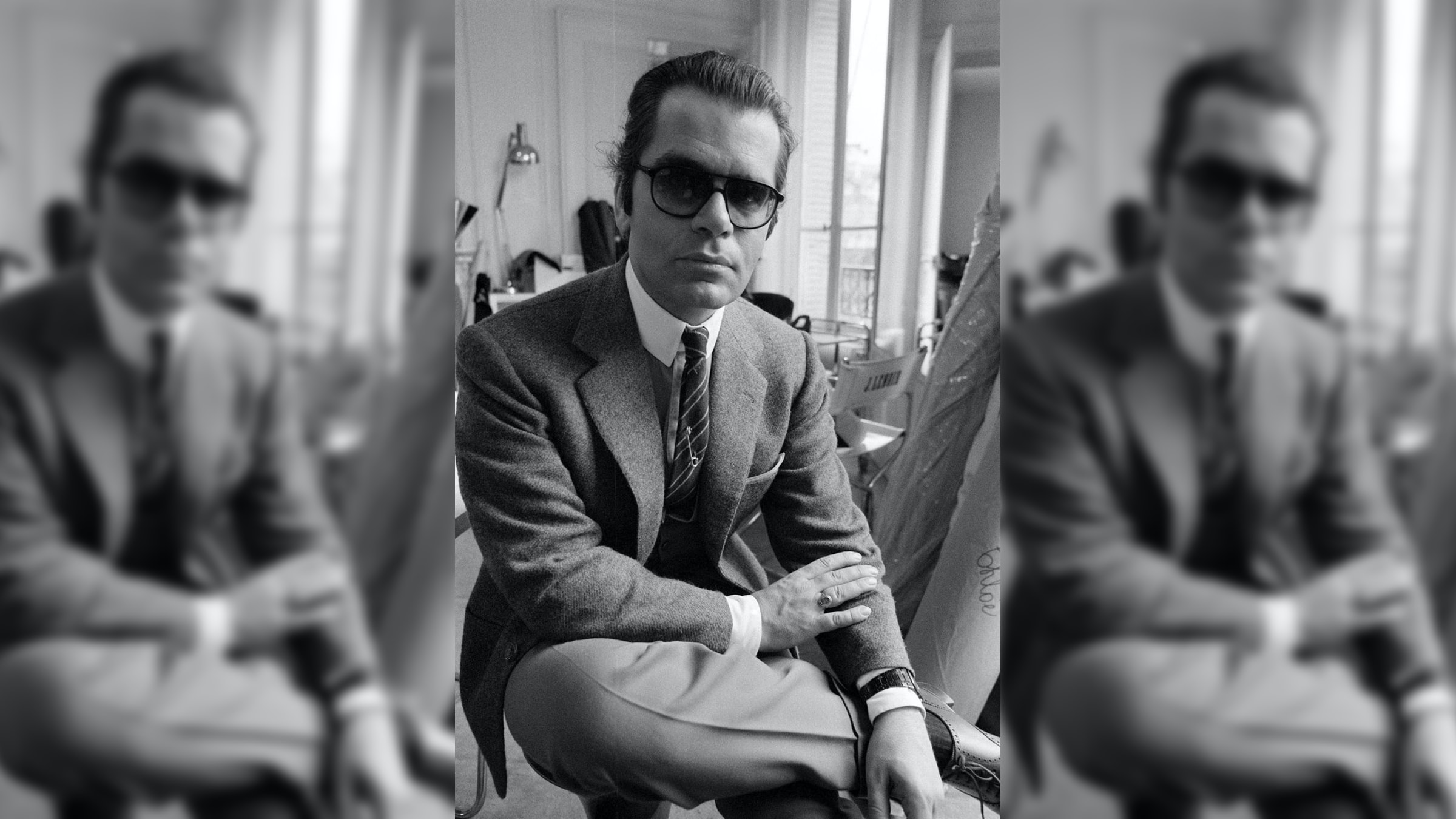 Recommended Reading: Karl Lagerfeld And His Famous All Black Audemars Piguet Royal Oak