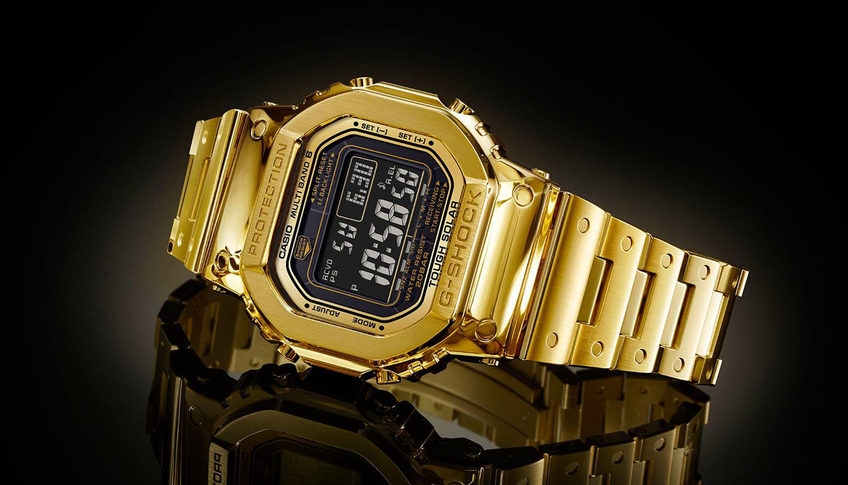 81daf319d2e Just Because  The Solid 18 Karat Gold G-Shock  Pure Gold  G-D5000-9JR -  HODINKEE