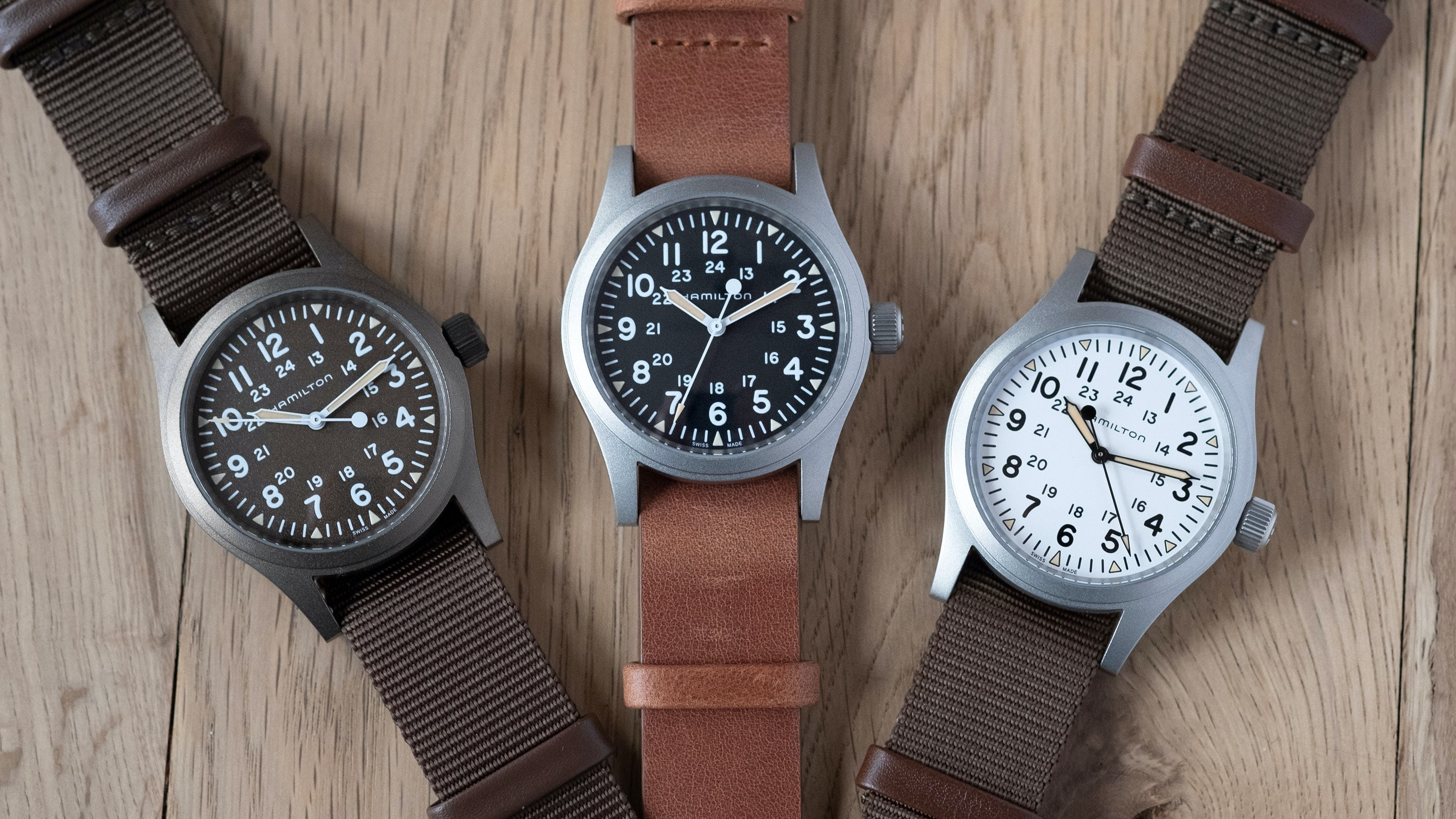 Introducing The Hamilton Khaki Field Mechanical In New Colors Live