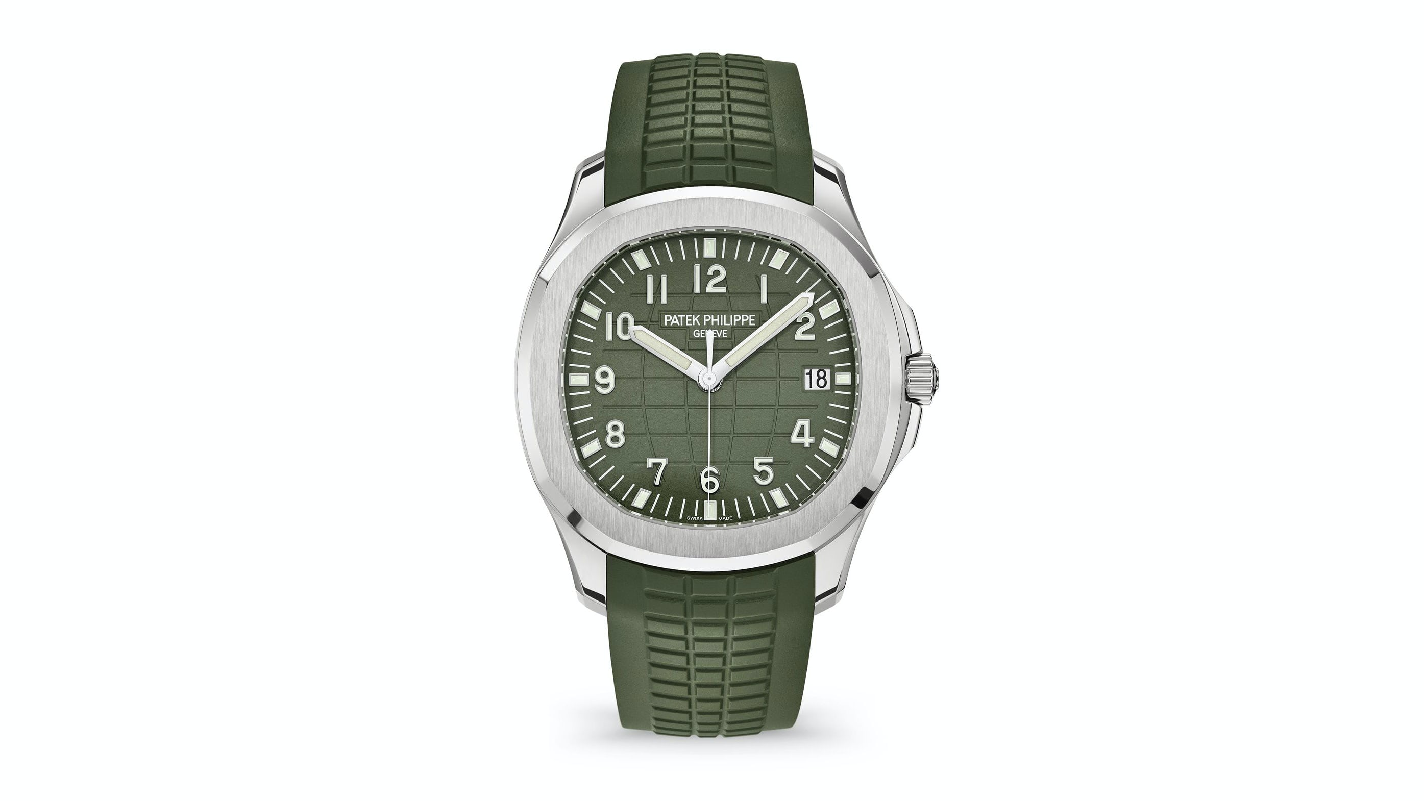 Introducing The Patek Philippe Aquanaut 5168g With Khaki Green Dial