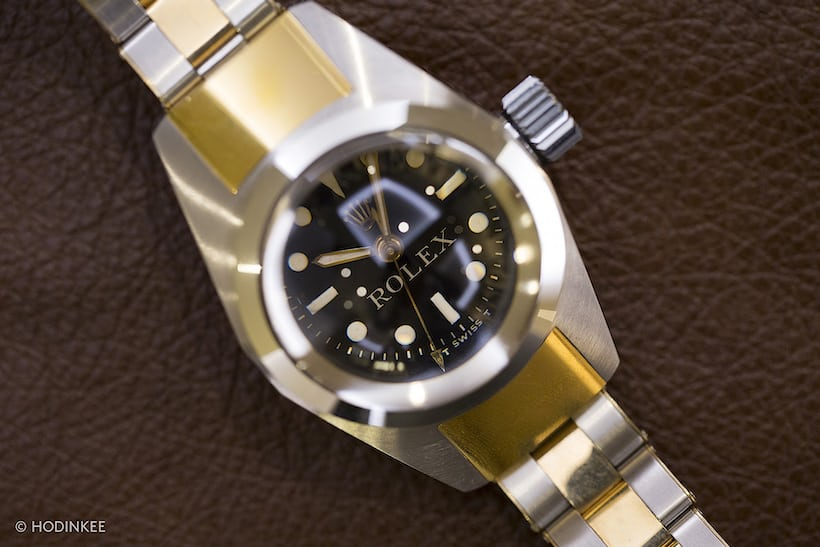 33a6c8d4693 A Rolex Deep Sea Special, in two-tone steel and yellow gold. Circa 1960s.