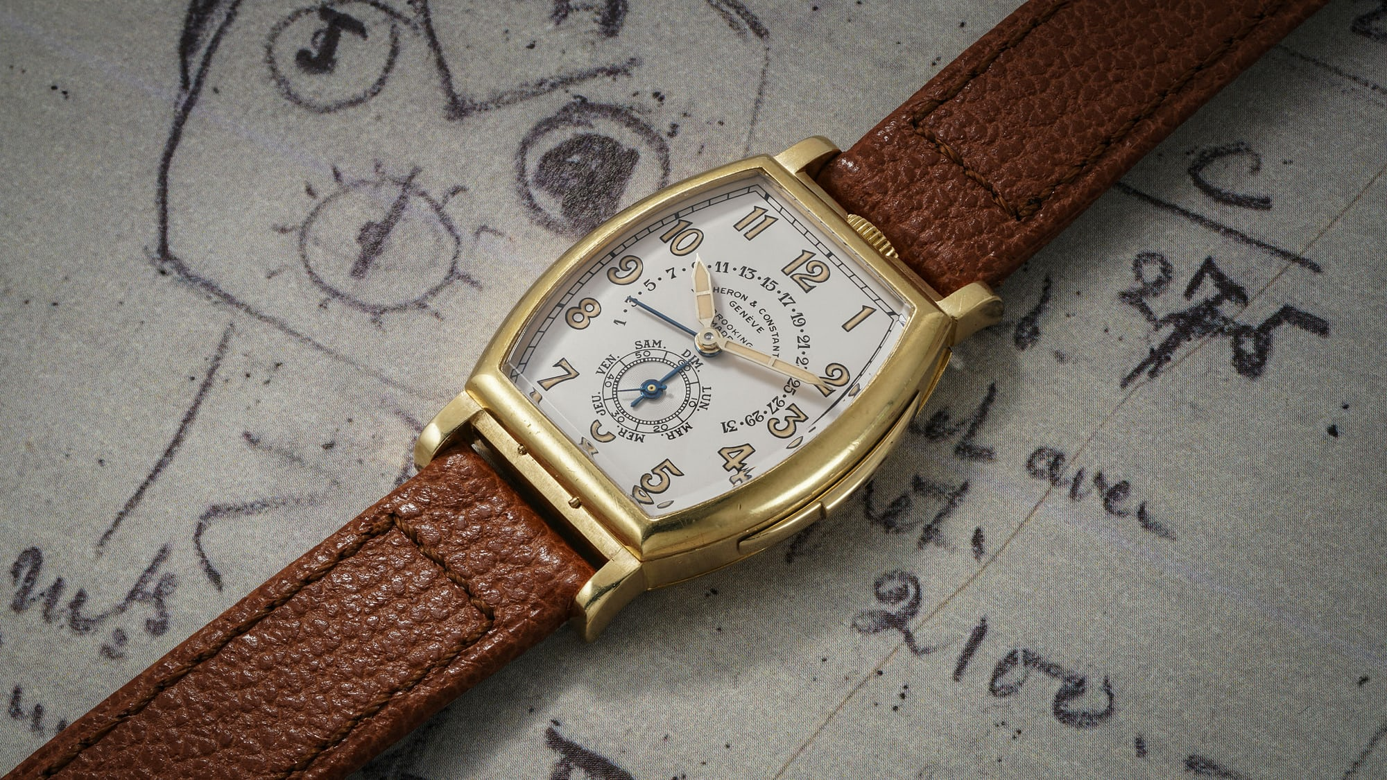 Auction Report: Phillips To Offer A Unique 1930s Vacheron Constantin Minute Repeater With Retrograde Calendar