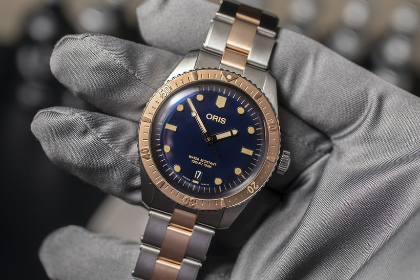 Introducing The Oris Divers Sixty Five Bico In Steel And Bronze Lives Pics