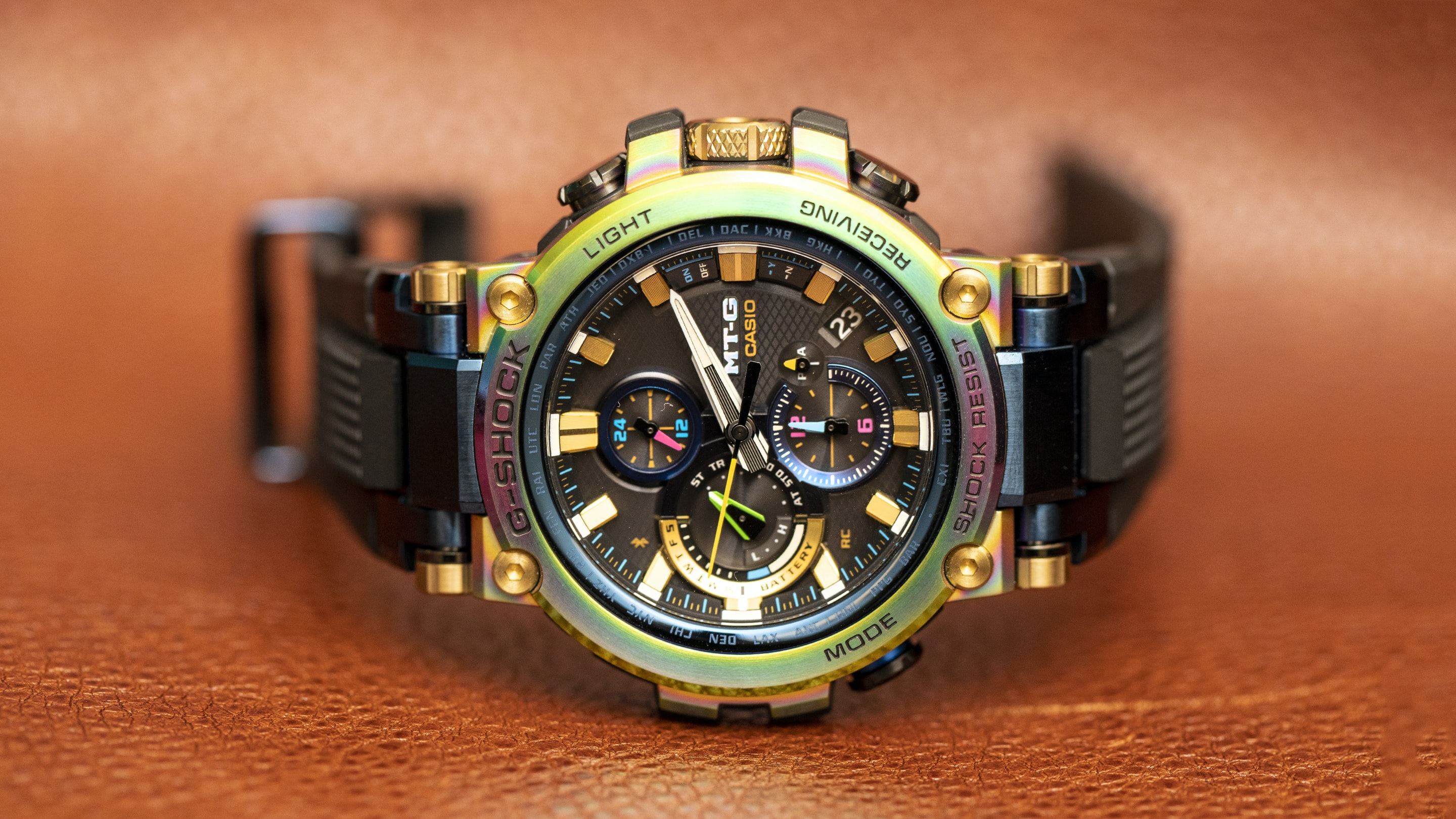 Introducing: The Casio MT-G 20th Anniversary B1000RB (Live Pics & Pricing)