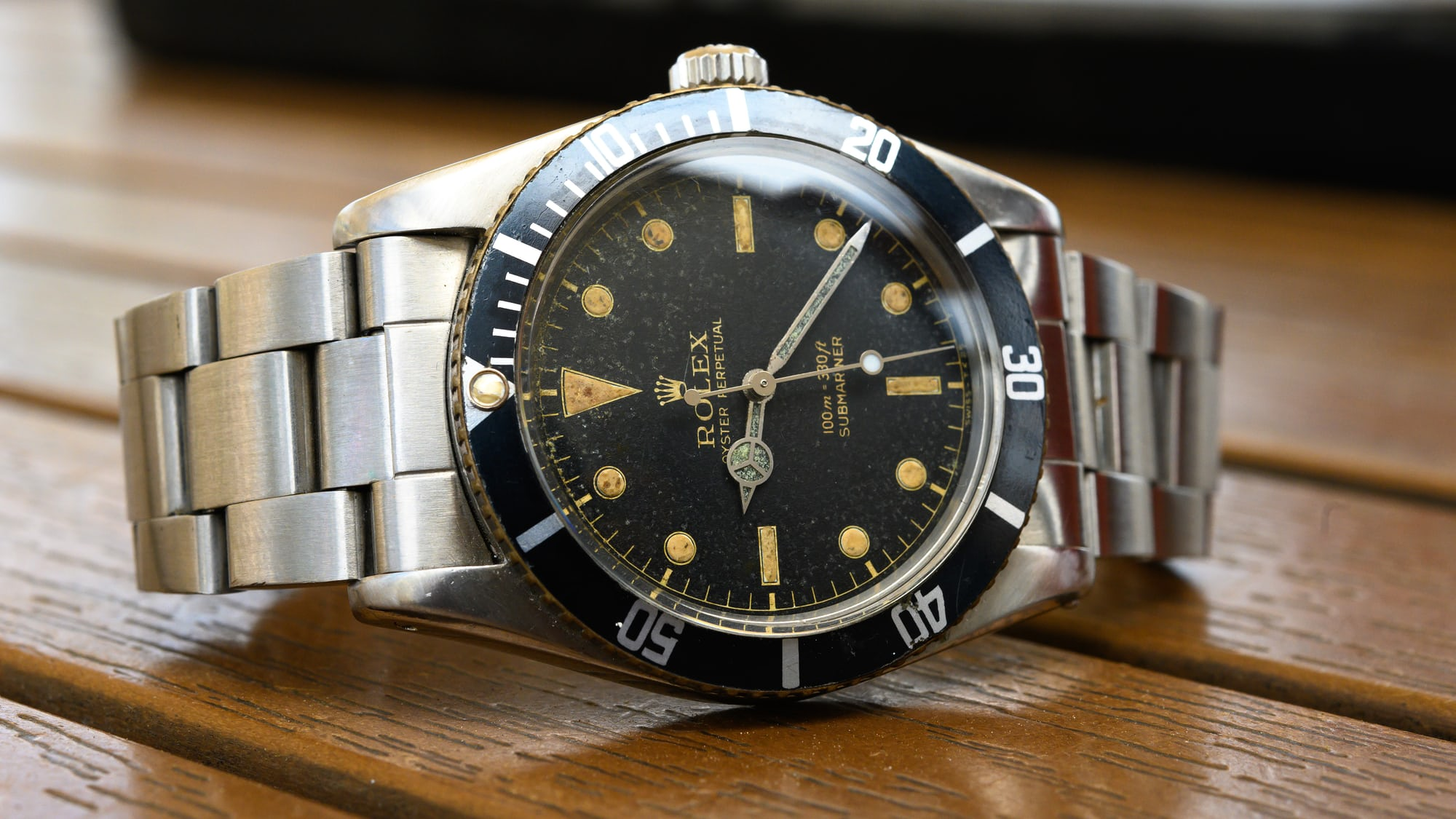 Found: A Bonairean Waterman's Heirloom Rolex Submariner Ref. 6536/1
