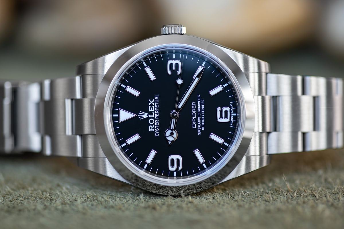 c6f1b6ffc8418 A Week On The Wrist: The Rolex Explorer Reference 214270 - HODINKEE