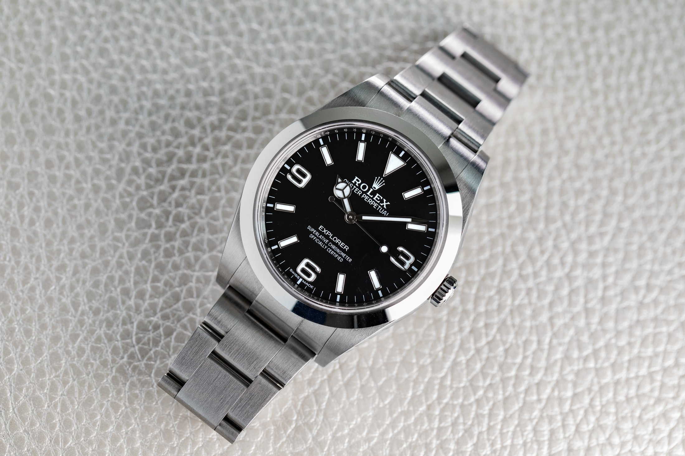 A Week On The Wrist The Rolex Explorer Reference 214270