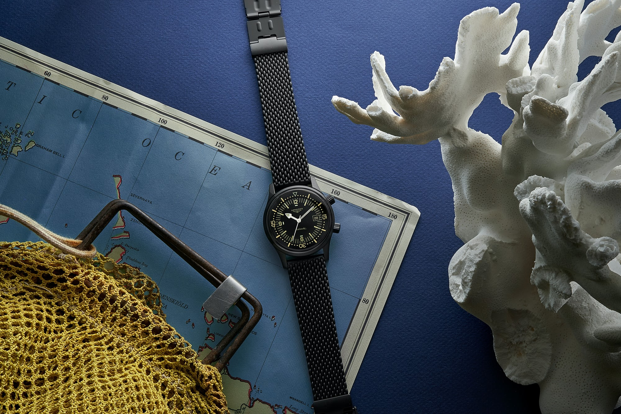 In The Shop - Introducing: The Longines Legend Diver In Black PVD