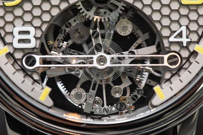 Montres KF Spirograph Sport tourbillon detail