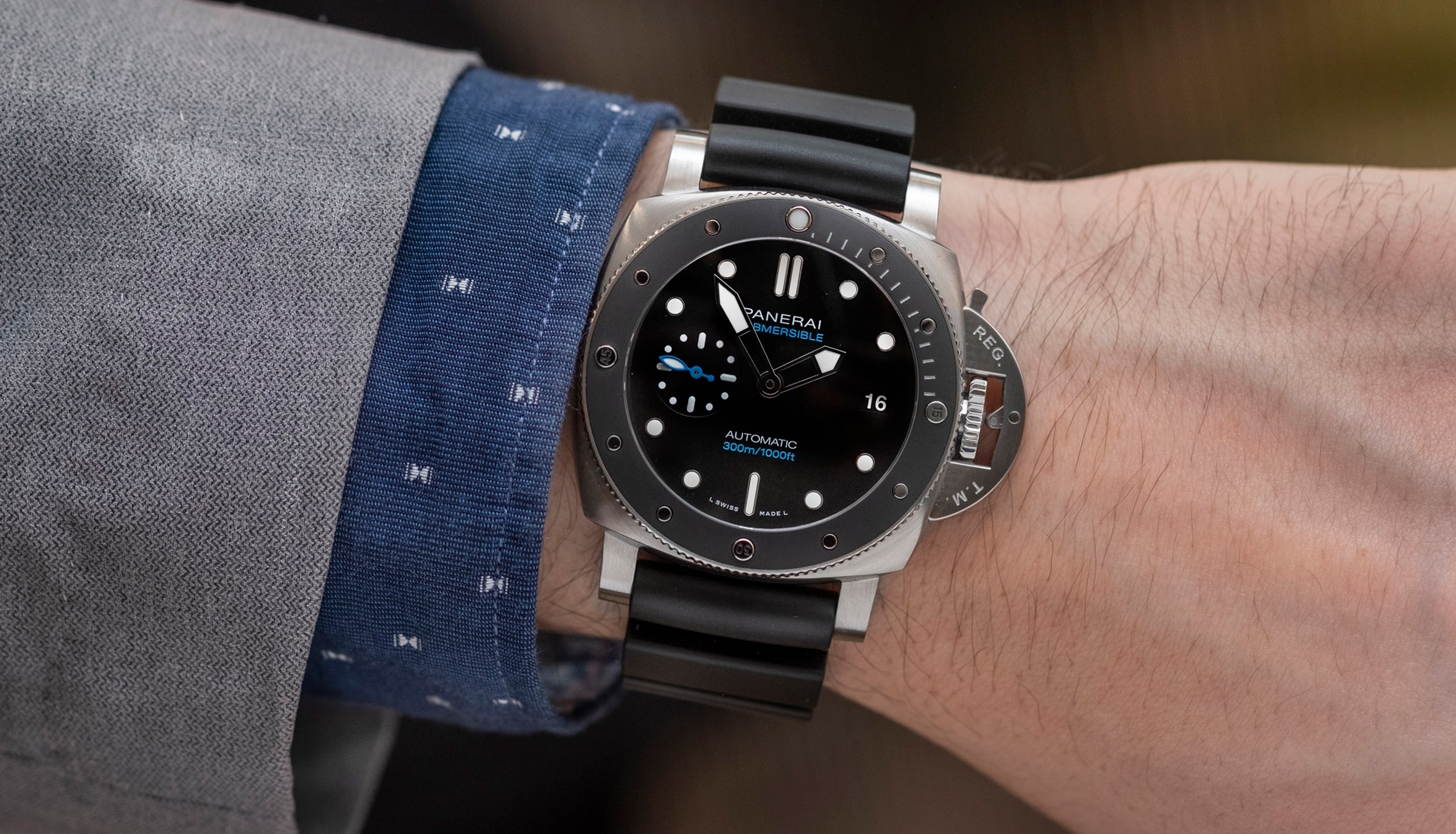 Hands-On: The Panerai Submersible 42mm