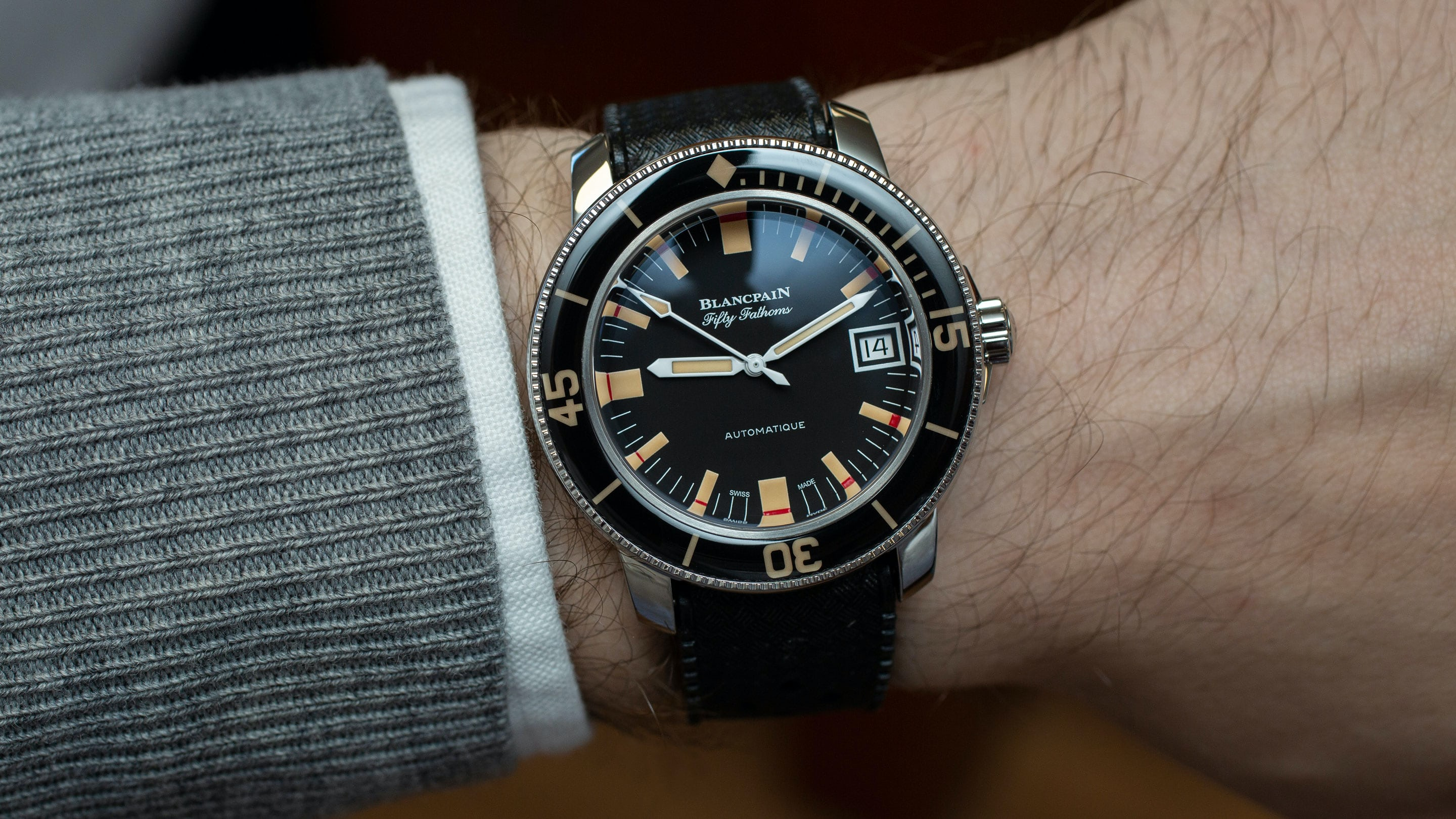 Introducing The Blancpain Fifty Fathoms Barakuda Limited Edition