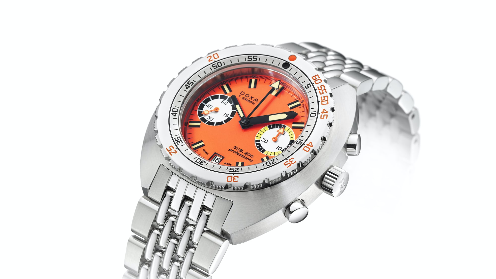 Introducing: The Doxa SUB 200 T.Graph Stainless Steel