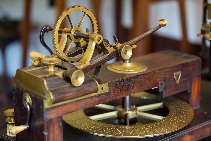 18th c. New England Wheel Cutting Engine