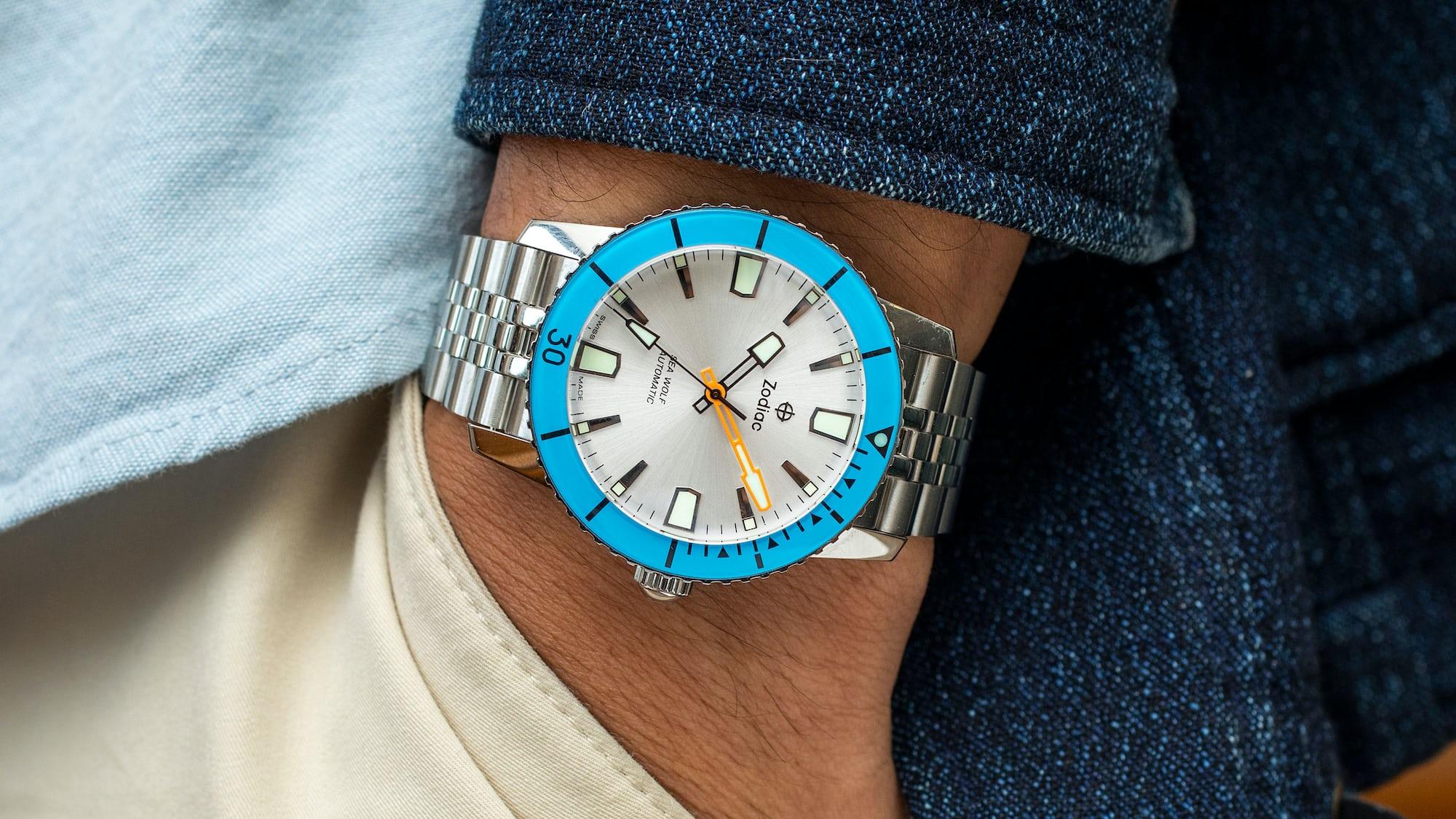 The Value Proposition: The Zodiac Super Sea Wolf 53 Compression 'Blue Lagoon' Watches