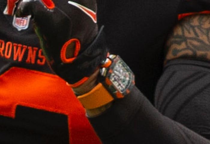 Watch Spotting: Odell Beckham Junior Wears Richard Mille In