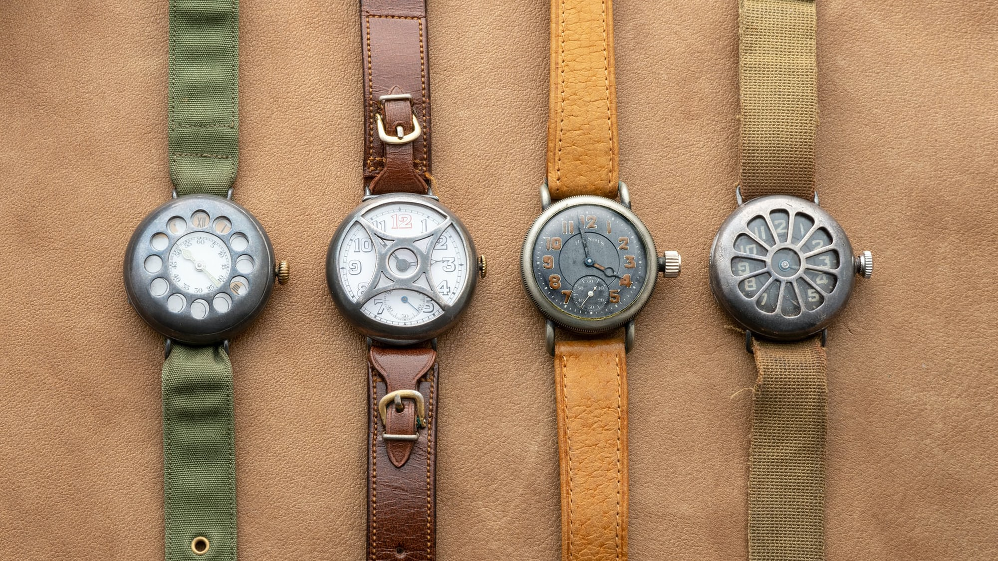 Just Because: The Ironic Elegance Of Trench Watches