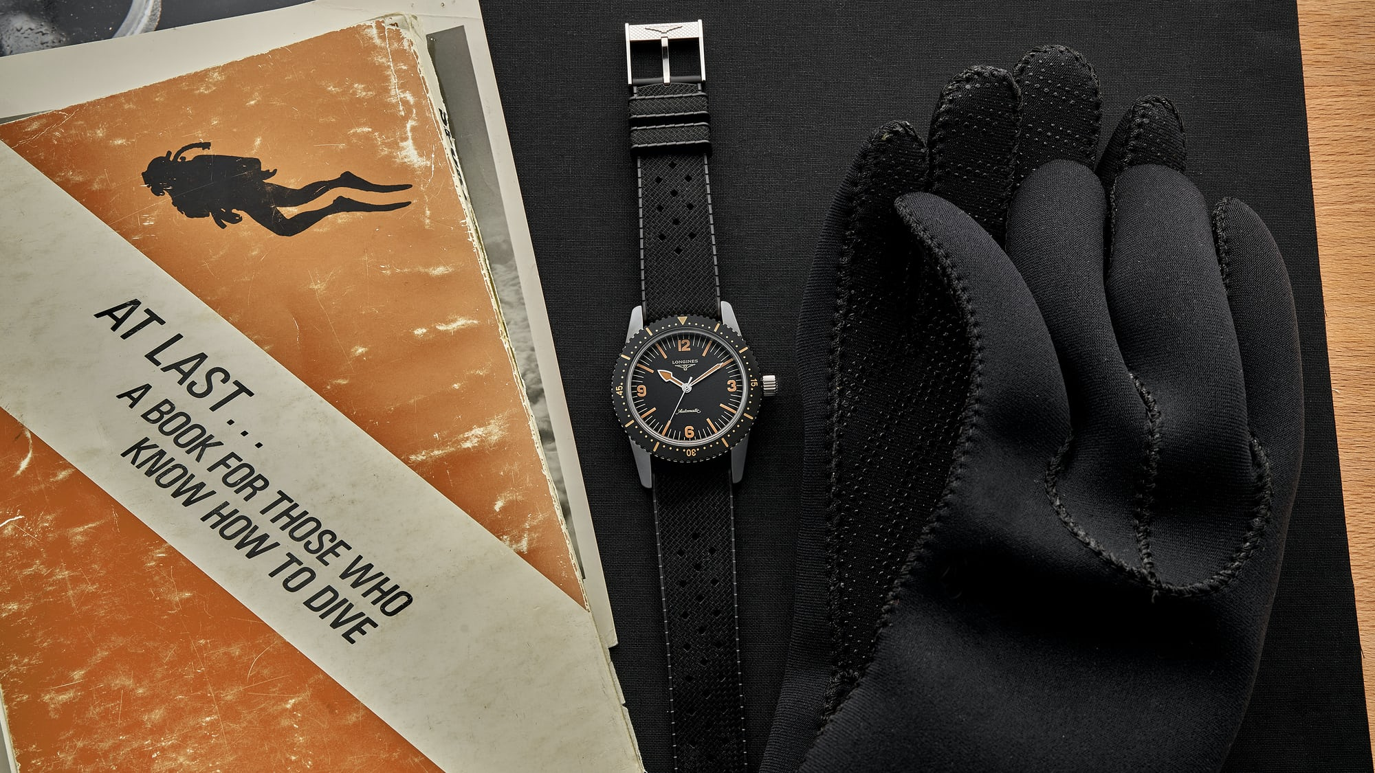 In The Shop - In The Shop: The Longines Heritage Skin Diver