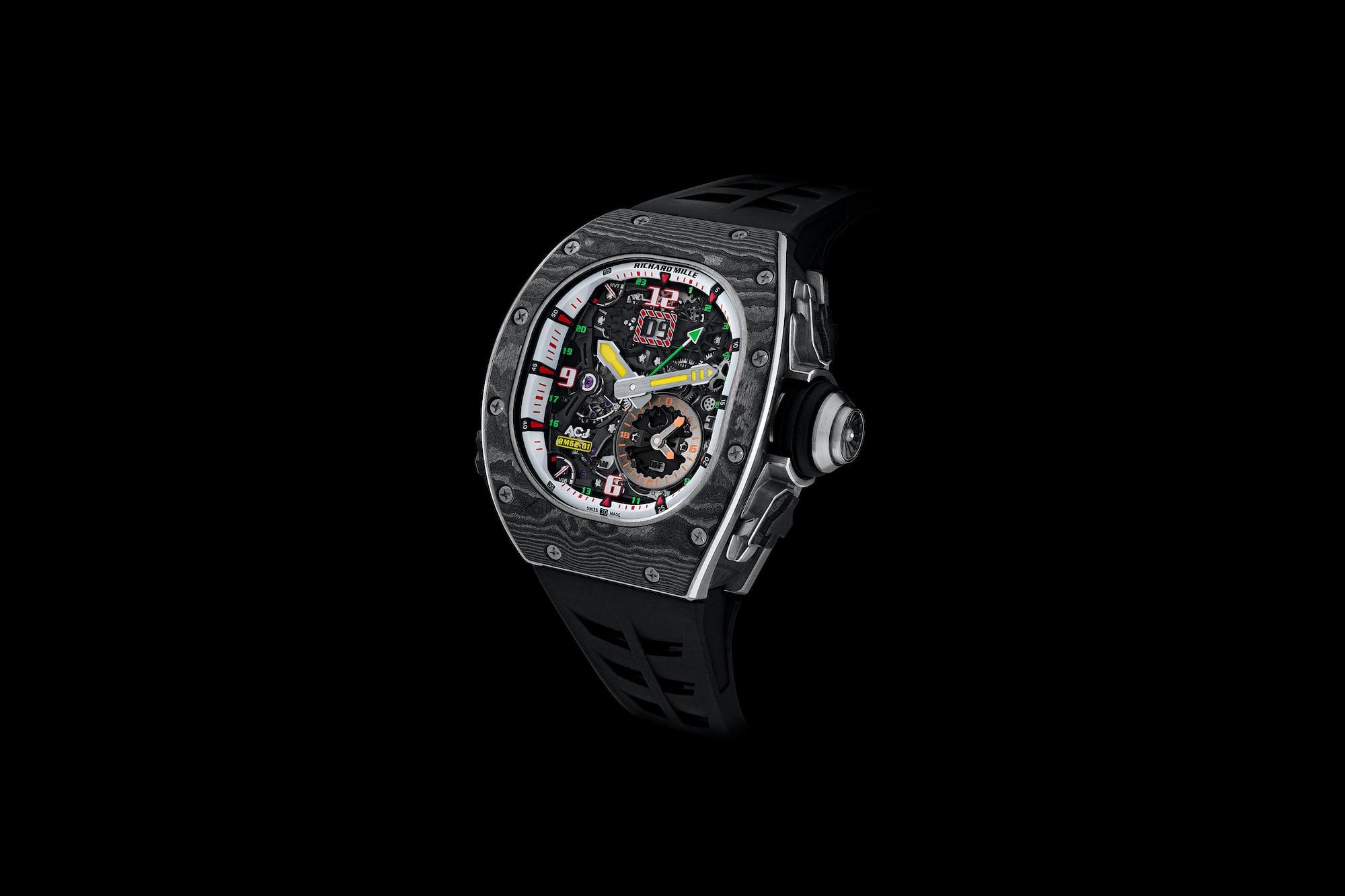 Introducing: The Richard Mille RM 62-01 Tourbillon Vibrating Alarm