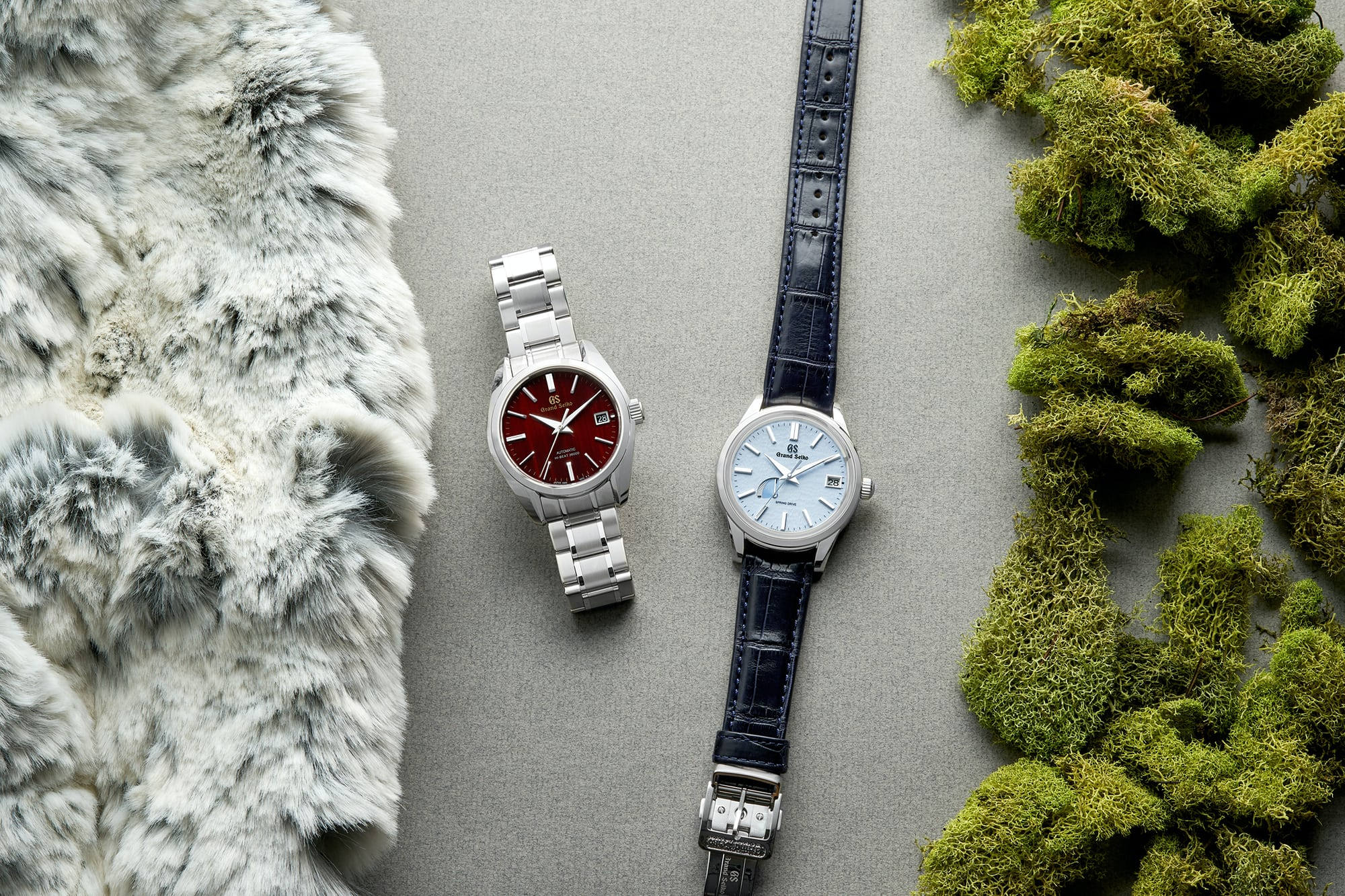 In The Shop - Introducing: The Grand Seiko 'Blue Snowflake' SBGA407 And The Hi-Beat Limited Edition For Autumn SBGH269