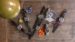 A Collection Of Tutima Watches Issued To Military Units