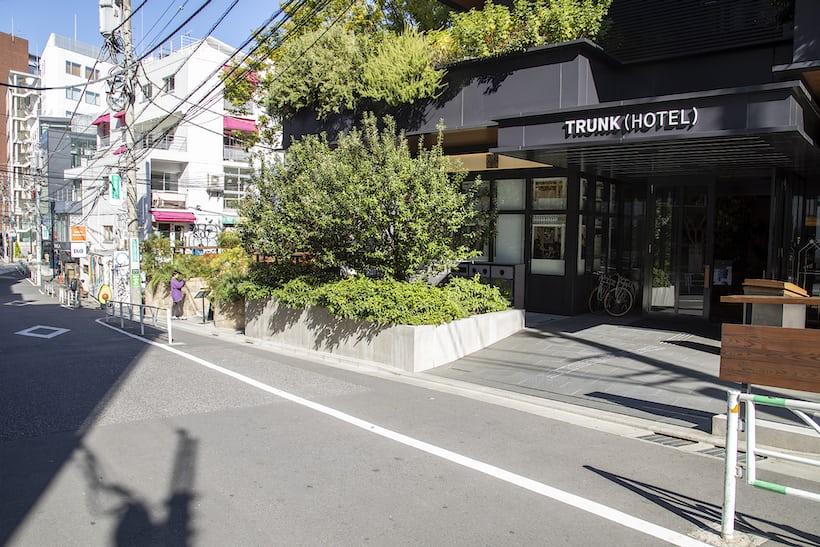 TRUNK(HOTEL)の外観