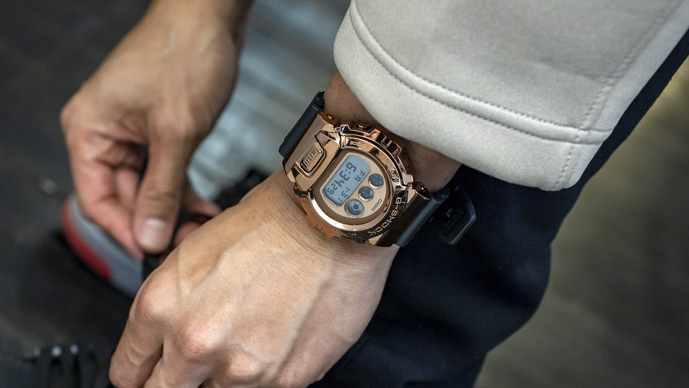 Introducing: The KITH x G-Shock GM6900 Rose Gold - HODINKEE