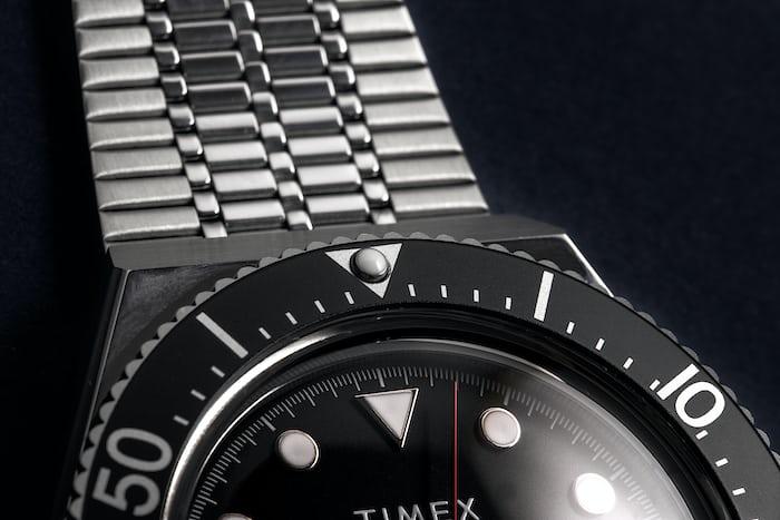 Timex M79 close up