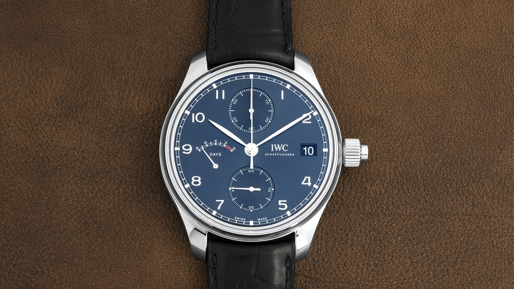 Introducing: The IWC 'Laureus Sport for Good' Portugieser Hand-Wound Monopusher Limited Edition (Live Pics & Pricing) - HODINKEE