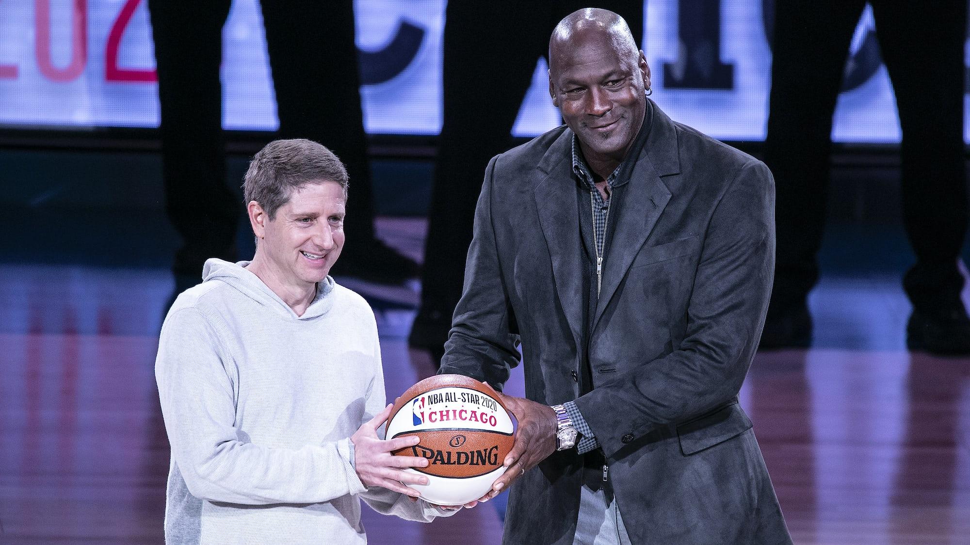 Watch Spotting: Michael Jordan Wearing An Urwerk UR-202S At The NBA All-Star Game
