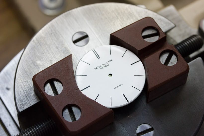 Patek dial with Tiffany stamp