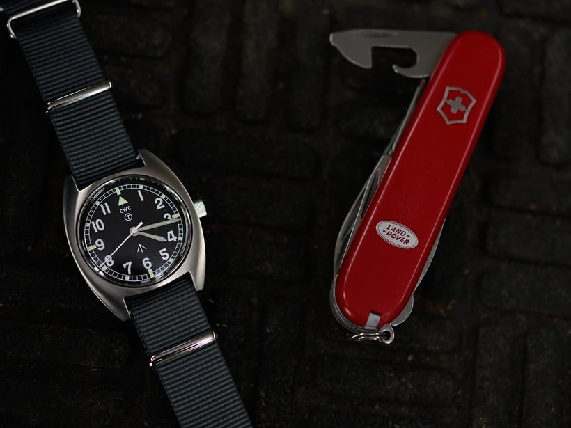 Mellor-72 and Swiss army watch