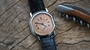 Frank Geelen's Daniel Roth Small Seconds With Salmon Dial