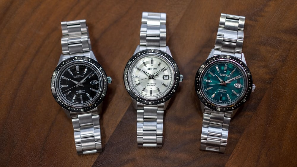 Hands-On: The Seiko Presage Homage To The Crown Chronograph - HODINKEE