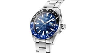 The New TAG Heuer Aquaracer GMT