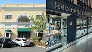 Windsor Jewelers In North Carolina And James Porter & Son In Glasgow, Scotland