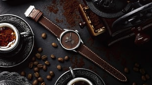 The BWD X Badgerworks TAG Heuer Carrera Calibre 5 with Tropical Coffee Dial