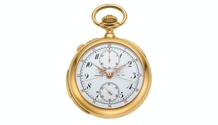 A Patek Philippe Pocket Watch Honoring A Medical Professional Who Fought A Pandemic At The Turn Of The 20th Century