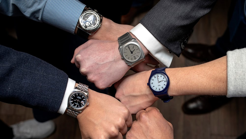 Just Because: Study Shows That Yes, People Who Wear Watches Really Are Superior Humans - HODINKEE