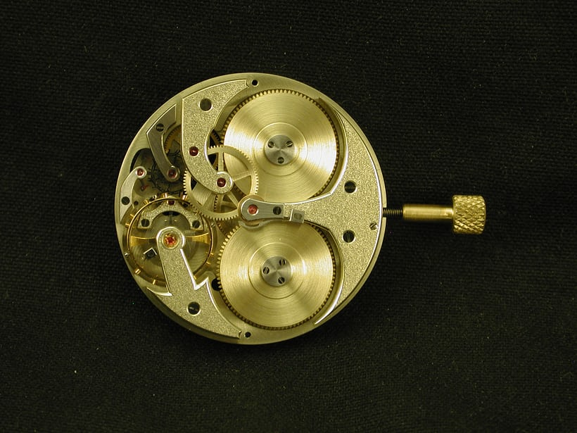 First prototype watch movement.