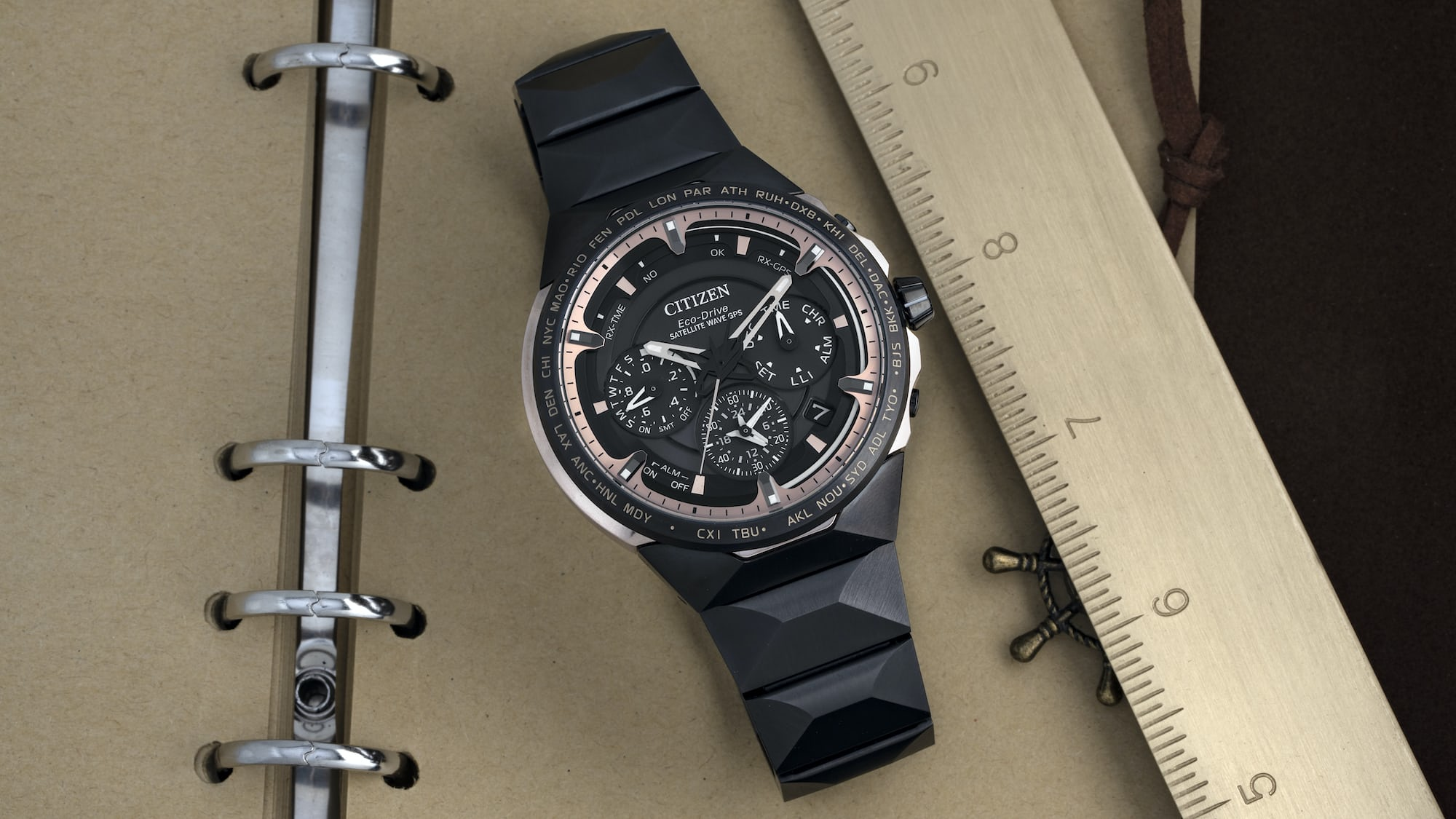 Hands-On: The Citizen Satellite Wave GPS F950 Titanium 50th Anniversary Limited Edition