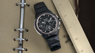 The Citizen Satellite Wave GPS F950 Titanium 50th Anniversary Limited Edition