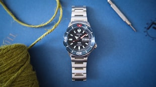 The Seiko SRPE27 'Monster' PADI Special Edition