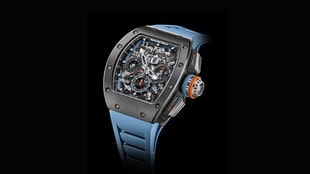 The Richard Mille RM 11-05 Automatic Flyback Chronograph GMT