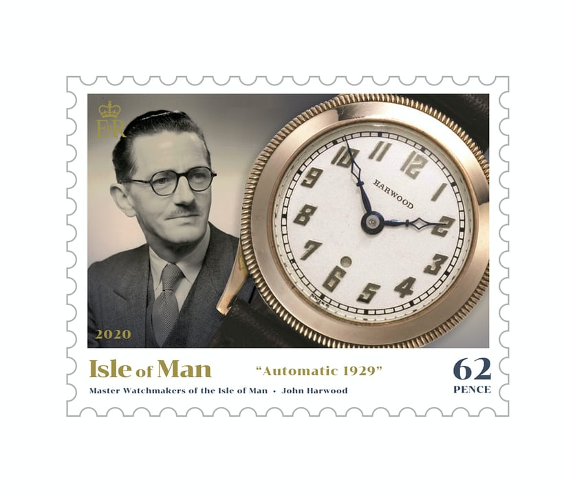 Isle of Man Master Watchmakers Stamps