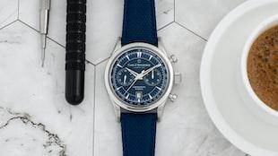 The Carl F. Bucherer Manero Flyback Chronograph 'Blue Horizons' (Live Pics & Pricing)