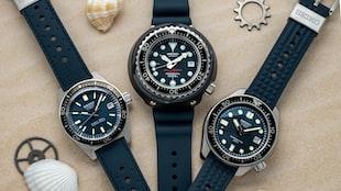Three Seiko 55th Anniversary Dive Watches