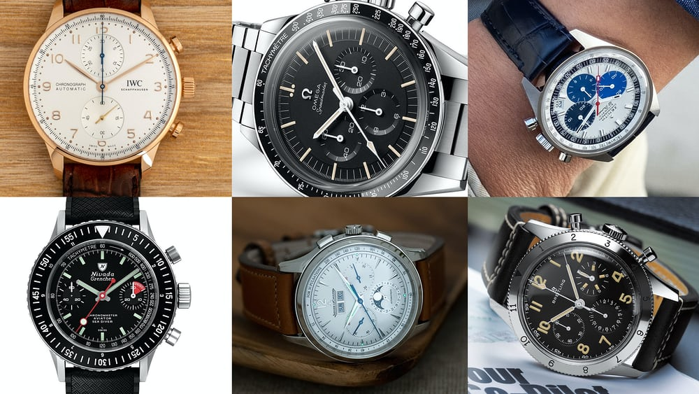 Editors' Picks: Our Favorite Chronographs From The 2020 New Releases - HODINKEE