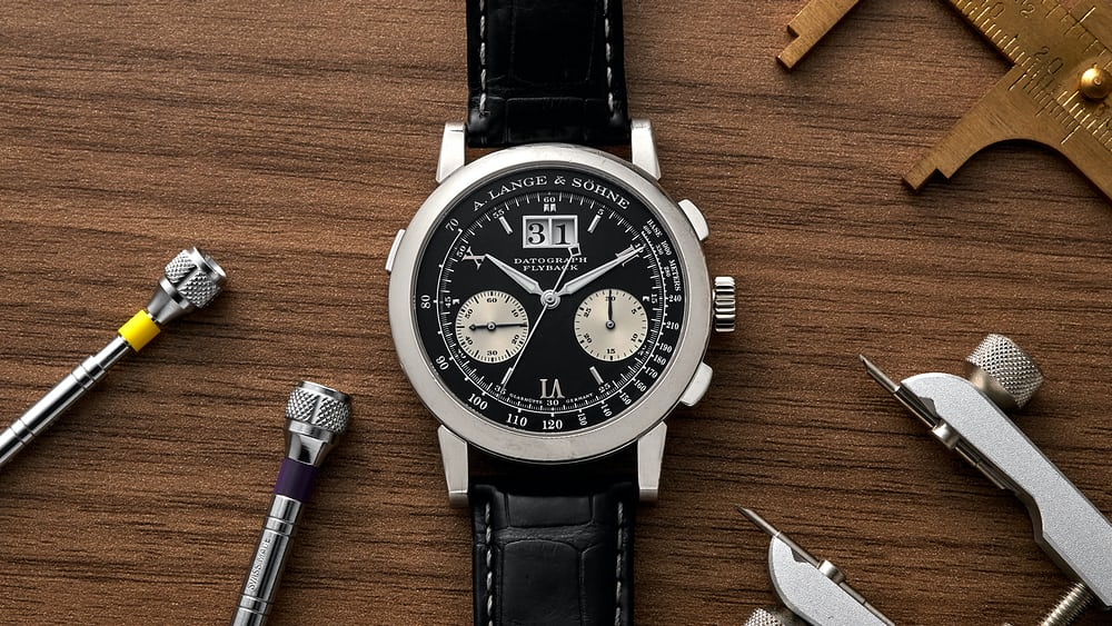 In-Depth: The Classic A. Lange & Söhne Datograph - HODINKEE