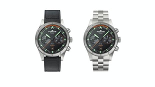 The Fortis Flieger F-43 Bicompax