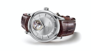 The Carl F. Bucherer Heritage Tourbillon Double Peripheral In White Gold